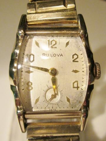 1953 Bulova Director E watch