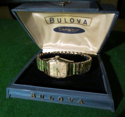 1957 Bulova Senator D watch