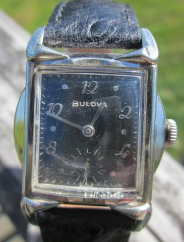 1957 Bulova Banker B watch