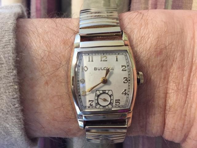 [1954] Bulova watch