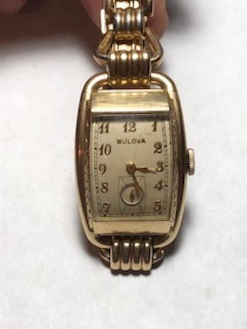 1939 Bulova Ambassador watch