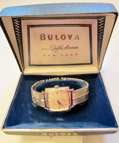 1963 Bulova Engineer H watch