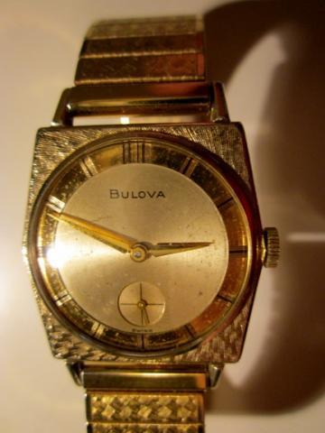 1966 Bulova Banker K watch