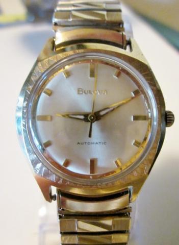 1969 Bulova Clipper V watch