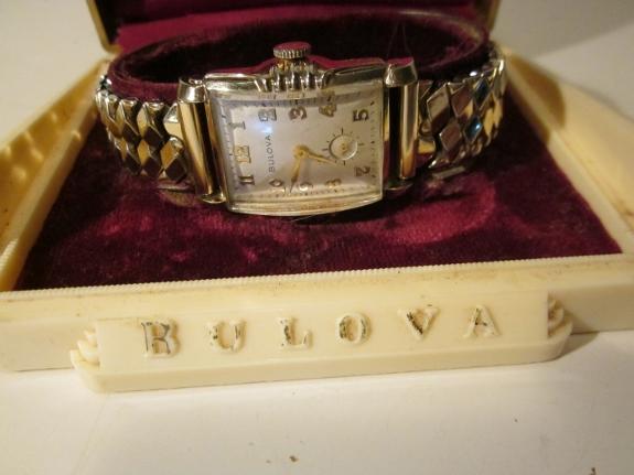 1953 Bulova President A watch
