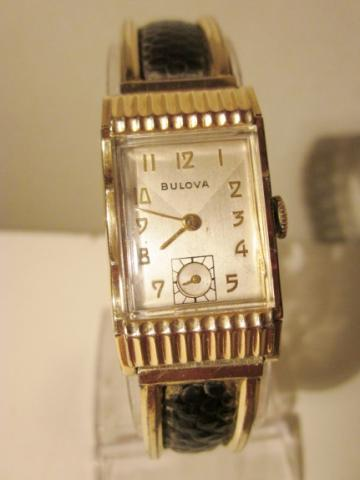 1950 Bulova Academy Award Q watch