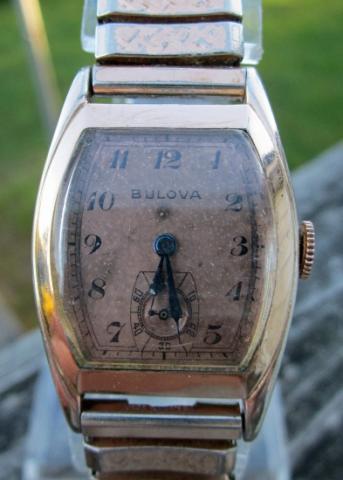 1940 Bulova Alderman watch