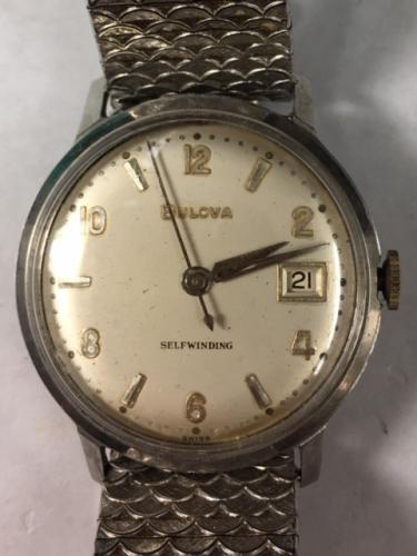 1964 Bulova Date King watch