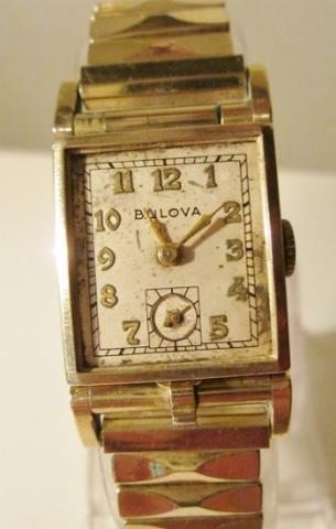 1950 Bulova Photo Watch A watch