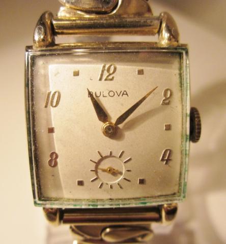 1946 Bulova Franklin A watch