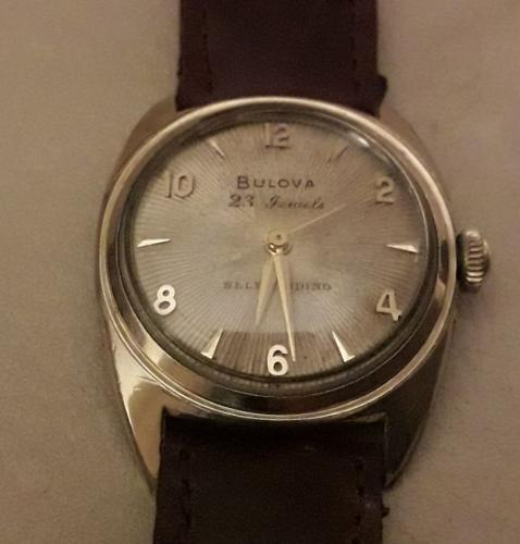 Bulova watch 23 C 1954