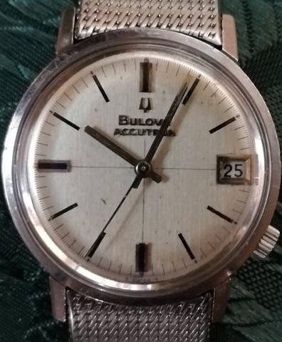 1968 Bulova Accutron Calendar watch