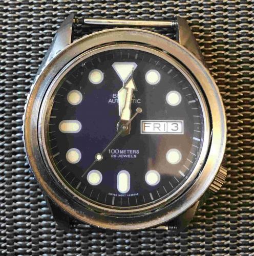 1980 Bulova watch