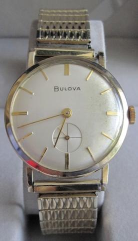 1958 president Bulova watch