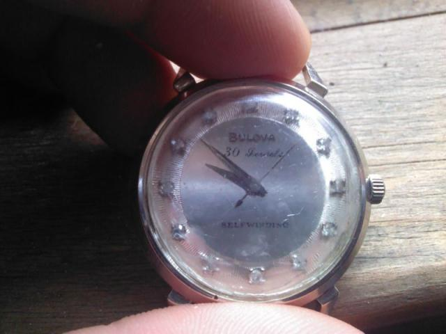Beau Brummel 1960 Bulova watch