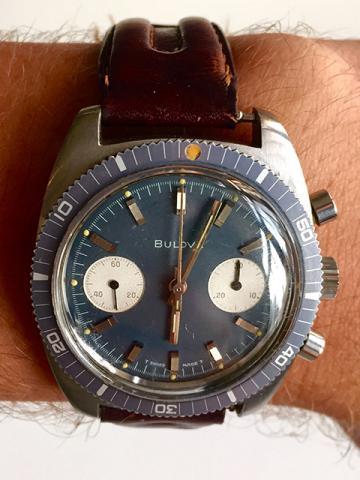 1970 Bulova Deep Sea Chronograph