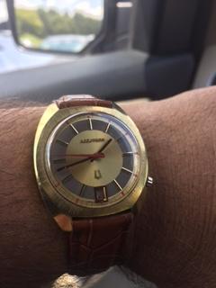1971 Accutron Calendar CO watch