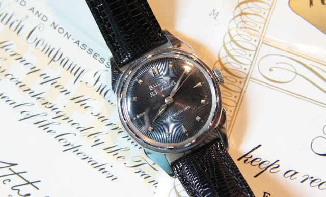 1957 23 Bulova watch