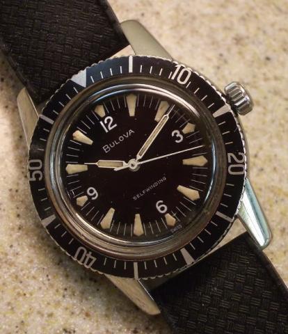 Snorkel 1961 Bulova watch
