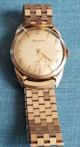 1957 Bulova President watch