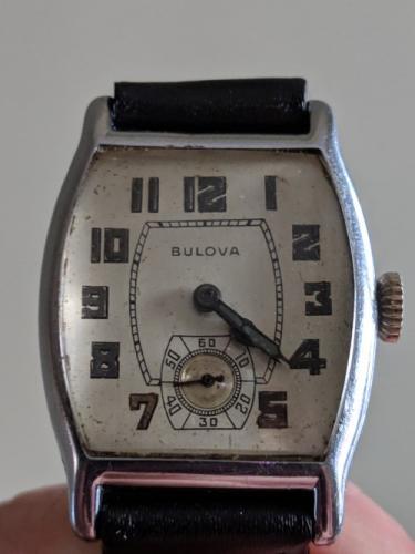 1928 Bulova LaFayette watch