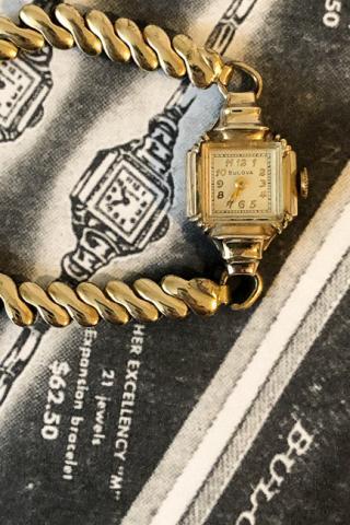 1949 Bulova Her Excellency M watch