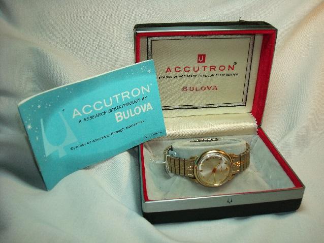 1965 Bulova Accutron 410 watch