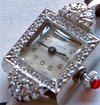 1969 Bulova Marquise watch