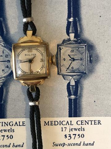 1941 Bulova Medical Center watch
