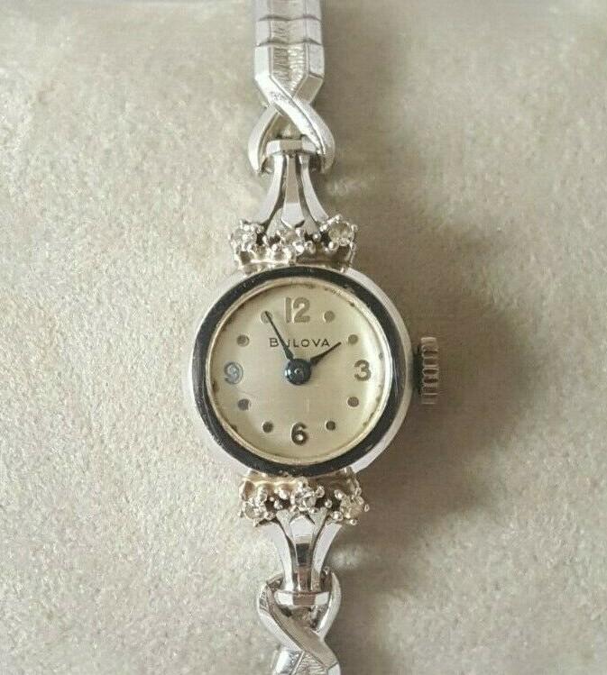 1953 Bulova Empress D watch