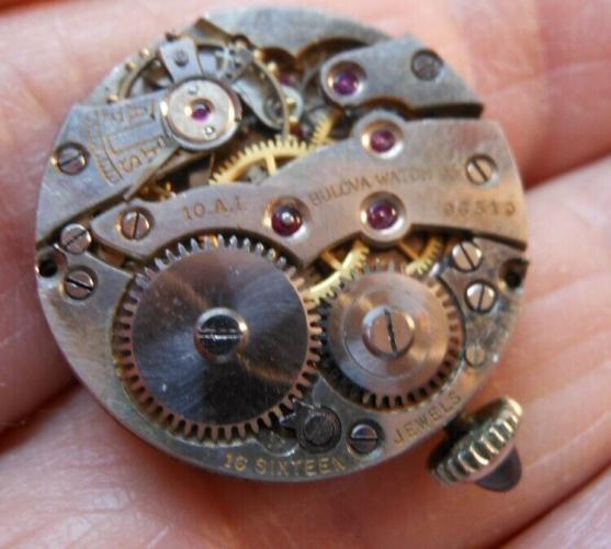 Bulova watch movement 10AI