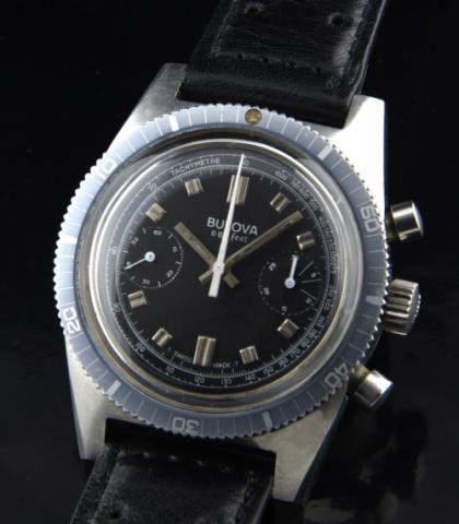 1973 Bulova Deep Sea Chronograph watch