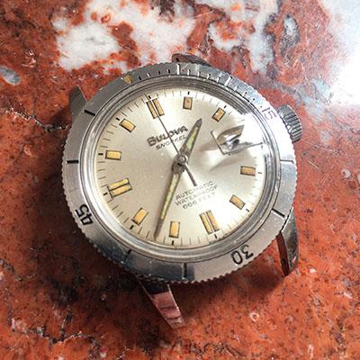 1960 Bulova Snorkel 666 watch
