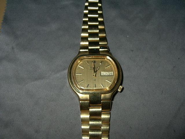 1973 Bulova Accutron Date & Day watch