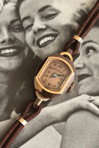 1941 Bulova Pauline watch