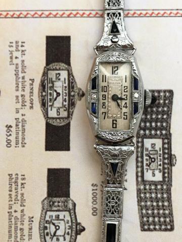 1929 Bulova Penelope watch