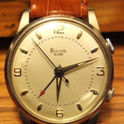 Bulova Alarm watch