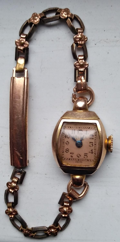 1947 Bulova watch front