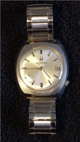 1973 Bulova Accutron watch