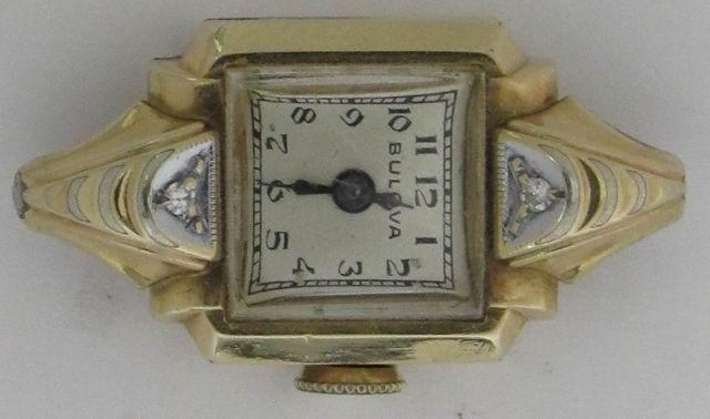 1948 Bulova Loma watch