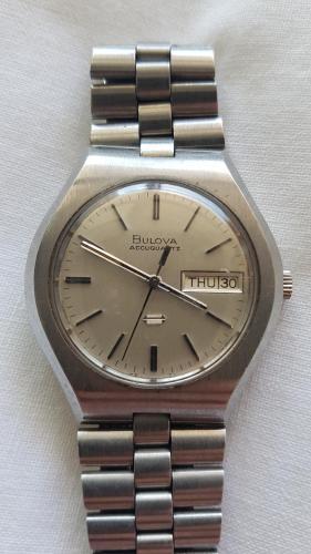 1973 Bulova Accutquartz watch