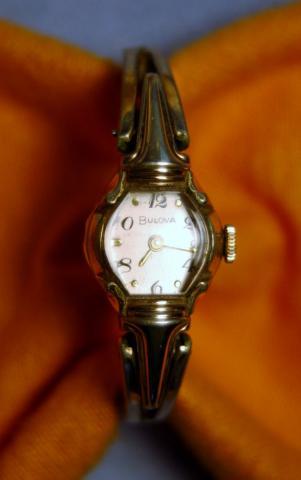 1956 Americqn Girl Bulova watch