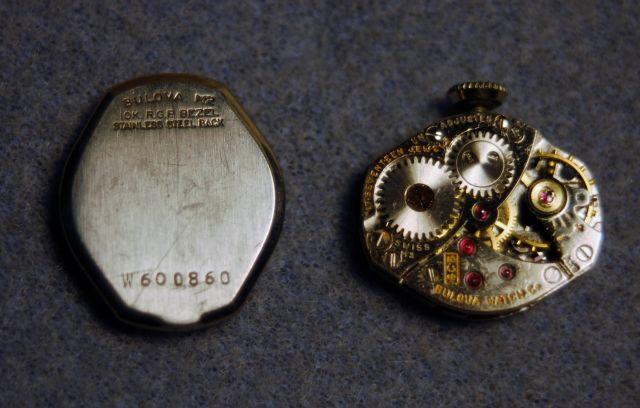 1962 Bulova watch
