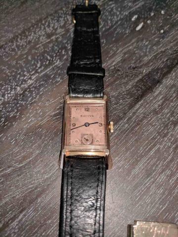 1947 Bulova Craftsman B watch