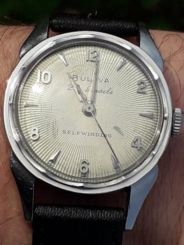 1956 Bulova watch 23 model B