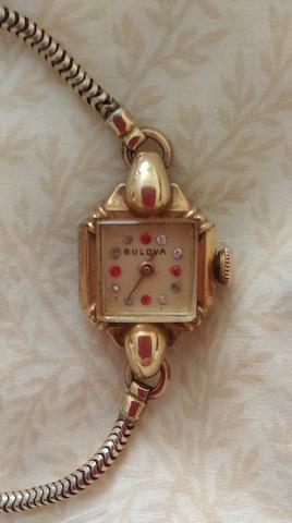 1948 Her Excellency K Bulova watch