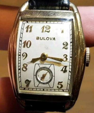 1938 Bulova Lone Eagle watch