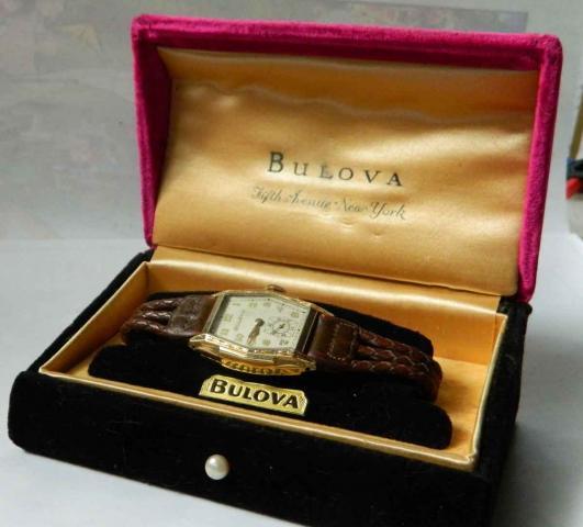 1936 hancock Bulova watch