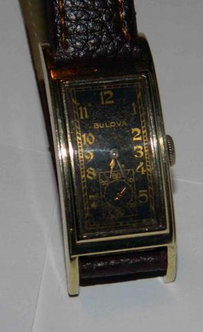 "1937 "" Marshal "" Bulova watch"