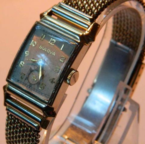 1947 Bulova Broker watch
